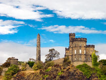 Calton Hill Royalty Free Stock Photos