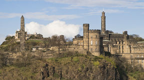 Calton Hill, Edinburgh, in Late Sun Stock Photo