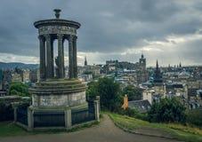 Calton Hill in Edinburgh Royalty Free Stock Photo