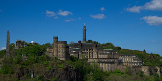 Calton Hill, Edinburgh, Scotland Stock Photos