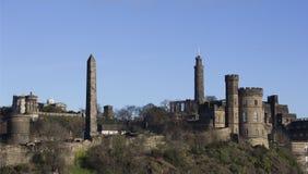Calton Hill - Edinburgh. Calton Hill on a sunny Edinburgh day Royalty Free Stock Image