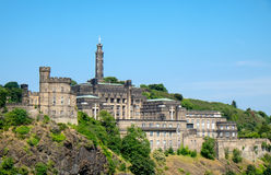 Calton Hill in Edinburgh Royalty Free Stock Photos