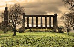 Calton kulle, Edinburg, Skottland, UK. Royaltyfri Bild