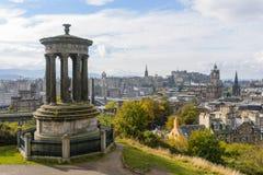 Caltonheuvel van Edinburgh in de Herfst Royalty-vrije Stock Foto