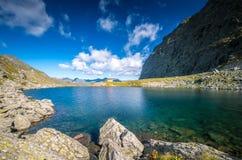 Caltun gleczeru jezioro Fotografia Stock
