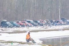 Calugareni, Romania – January 15: Annual meeting on January 15, Stock Images