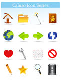 Caluro icon series-Internet and Blogging. Internet and Blogging Icon set - Part of Caluro Icon Series Stock Images