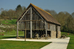 calvados cidermuseum normandy Royaltyfri Foto