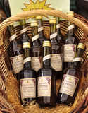 calvados nationell norman produkt Royaltyfria Bilder