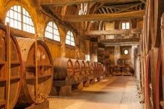 Calvados produktion arkivfoton