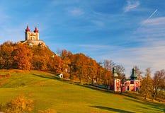Calvaire Banska Stiavnica photos stock