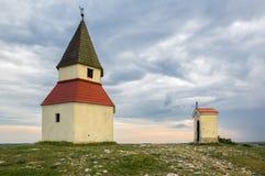 Calvaire, Nitra, Slovaquie Images libres de droits