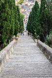 Calvari steps, Pollenca Royalty Free Stock Photos