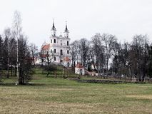 calvaries kościół krzyża wymyślenie zdjęcie stock