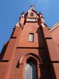 Calvario alto Baptist Church Steeple Fotografie Stock Libere da Diritti