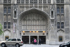 Calvario Baptist Church in NYC Fotografie Stock