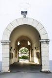 Calvario Gate, Olivenza, Spain Stock Images