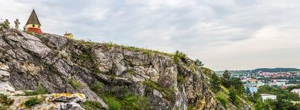 Calvario, Nitra, Slovacchia Fotografia Stock Libera da Diritti