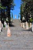 Calvario in Tandil Royalty Free Stock Image