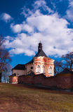 The calvary. Famous Calvary in Jaromerice in Czech Republic Royalty Free Stock Photography