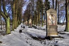 Calvary. On the Cross Hill in Zwickau. Czech Republic Royalty Free Stock Photos