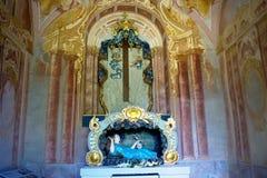 Calvary Banska Stiavnica - One of the chapels Stock Image