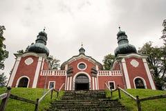 Calvary in Banska Stiavnica Stock Images