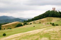 Calvary in Banska Stiavnica, Slovakia. Calvary hill in Banska Stiavnica, Slovakia Royalty Free Stock Image