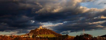 Calvary in Banska Stiavnica, Slovakia Royalty Free Stock Photos