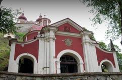 Calvary in Banska Stiavnica Royalty Free Stock Photo