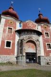 Calvary in Banska Stiavnica, Slovakia royalty free stock photo
