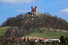 Calvary in Banska Stiavnica Stock Photography
