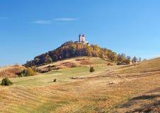 Calvary of Banska Stiavnica, Slovakia royalty free stock photography