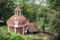 Calvary in Banska Stiavnica, Slovakia Stock Images