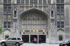 Calvary Baptist Church i NYC Arkivfoton