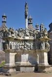 Calvary bretone Immagini Stock