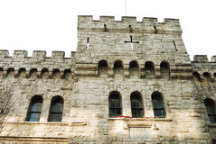 Calvary castle Philadelphia 3. Beautiful medieval castle in downtown philadelphia Royalty Free Stock Images
