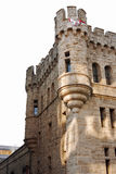 Calvary castle Philadelphia. Beautiful medieval castle in downtown philadelphia Stock Photos