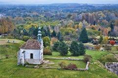 Calvary chapel in Tata, Hungary. Stock Images