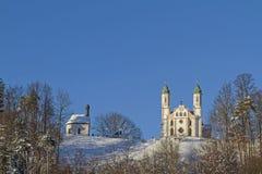 Calvary Church in Bad Tölz Stock Photos