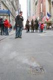 Calvary del desfile del día de Patricks del santo Imagen de archivo