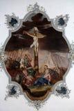 Calvary - Jesus dies on the cross Stock Images