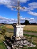 Calvary, kruis, kruisbeeld, godsdienst royalty-vrije stock afbeeldingen