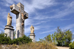 Calvary at Lautrec in France Stock Images