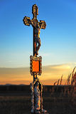 Calvary in meadow Royalty Free Stock Photo