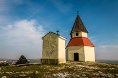 Calvary Nitra. Foto of calvary in nitra Royalty Free Stock Photos