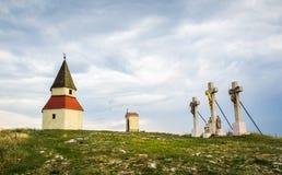 Calvary, Nitra, Slovakia Stock Image
