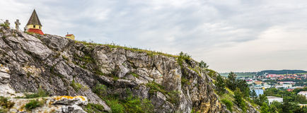 Calvary, Nitra, Slowakije Royalty-vrije Stock Foto