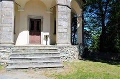 Calvary sagrado del soporte de Domodossola Foto de archivo libre de regalías