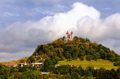 calvary stiavnica banska φθινοπώρου Στοκ Εικόνα